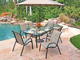 patio table and chairs set veranda elite round chair cover classic accessories with umbrella ch