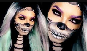50 makeup looks easy pretty scary creepy faces ony makeup tips