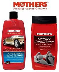 kit 1 mothers leather conditioner 1 mothers ultimate wax