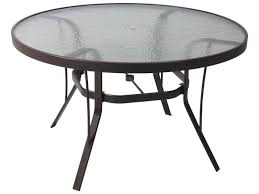 tempered glass patio dining table 60 inch round patio table set patio furniture liquidation patio furniture