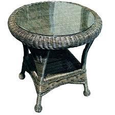 resin wicker side table white wicker end table resin wicker side table black wicker coffee table
