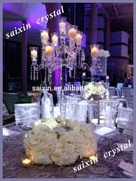 standing chandelier centerpieces clear crystal candelabra for wedding table wedding crystal home improvement shows in