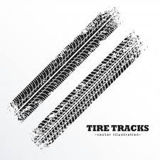 tire skid marks vector. Unique Marks Diagonal Tire Tracks With Tire Skid Marks Vector