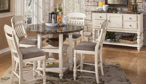 grey counter set black table round pub square piece distressed dining seats white ant for height