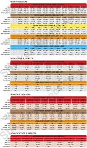 Snickers Trousers Size Chart Jackets Toolvests Trousers Onepiece Shorts Fleece