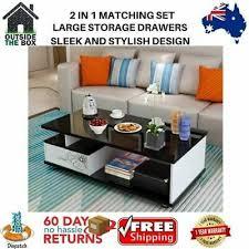 high gloss tv cabinet coffee table