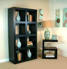 dark wood bookcase small brown bookshelf glamorous narrow mesmerizing with glass doors