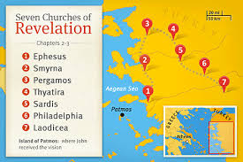 Letters To The Seven Churches Chart Seven Churches Of Revelation Life Hope Truth