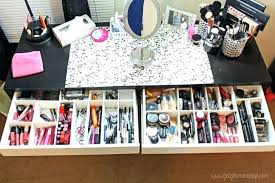 makeup vanity organization vanities small vanity makeup organizer makeup  vanity organizer with custom drawer makeup makeup
