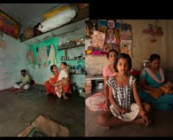 photo essay how the other half lives asia floor wage campaign  one airless windowless room per family