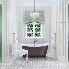 chandelier over bathtub tiered crystal chandelier over tub flanked frosted glass his and hers showers bathtub chandelier over bathtub