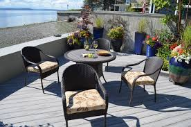 san marcos 5 piece all weather wicker patio dining set 3 san marcos 5 piece all weather wicker patio dining set 4