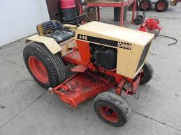 case garden tractor. Case 446 Hydro Garden Tractor Lawn Mower Big Wheel Onan Engine Hydraulic Parts! M