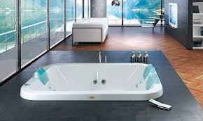 freestanding bathtub 3 seater chromotherapy