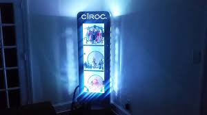 Alcohol Cabinet Ciroc Alcohol Cabinet With Led Rgb Lights Youtube