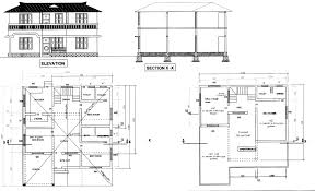 free building plans in autocad format homes zone autocad house plans