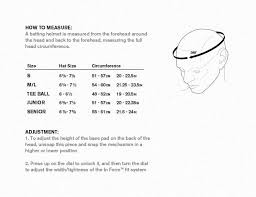 Easton Prowess Helmet Size Chart Easton Baseball Helmet