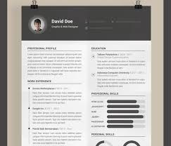 picture resume templates best free resume templates in psd and ai in 2018 colorlib
