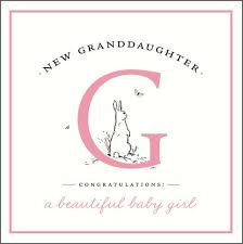 Congrats Baby Card New Granddaughter Cards New Granddaughter Congratulations New Baby Granddaughter Card New Baby Card Birth Congratulations Card
