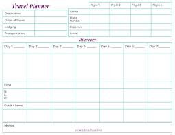 How To Organize Your Vacation With A Travel Printable Miss Sue Living