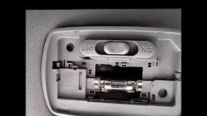 2006 Honda Accord Map Light Not Working How To Replace Dome Light Switch In An Acura And Honda