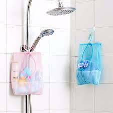 Küche Badezimmer Hängen Mesh Aufbewahrungsbeutel Kleider Spielzeug