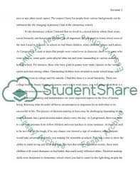 Example Of Essays About Life An Experience That Taught You A Valuable Lesson About Life Essay