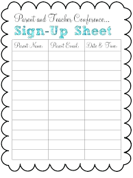 Printable Sign Up Sheet Template Free Word Template Sign Up Sheet Metabots Co