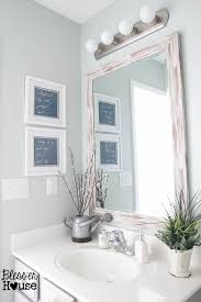 bathroom mirrows. the cheapest resource for bathroom mirrors (and makeover progress) | bless\u0027er mirrows