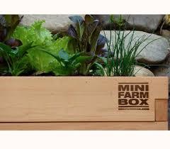 Organic Kitchen Gardening Raised Garden Bed Kits Minifarmbox Garden Planters