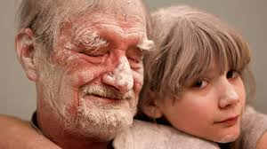 tranquil scenes for post holiday reflection girl and grandfather covered in flour my father the introvert a photo essay