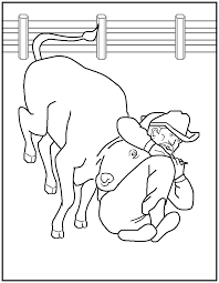 Small Picture FREE Printable Rodeo Coloring Pages page 2 great for kids