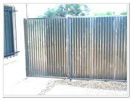 metal panel fence corrugated metal fence panel suppliers