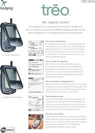 Palm Treo 180 Series Users Manual Datasheet