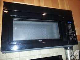 over the range microwave sale. Exellent Microwave Whirlpool OvertheRange Microwave  Black 150 On Over The Range Sale I