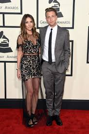 ryan tedder and wife. Brilliant And 57th GRAMMY Awards  Arrivals With Ryan Tedder And Wife W