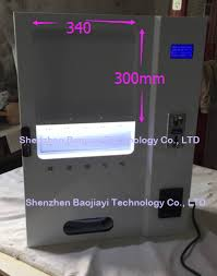 Single Cigarette Vending Machine Simple Single Cigarette Vending Machine BJY C48 With Light Boxin