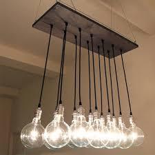 chandelier inspiring edison bulb chandeliers for diy plan 6