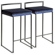 royal blue bar stools. Fine Stools Fuji 26 In Black Stackable Counter Stool With Blue Velvet Cushion  Inside Royal Bar Stools D