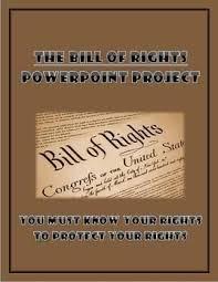 Bill Of Rights Powerpoint Project Teachers Pay Teachers Teacher