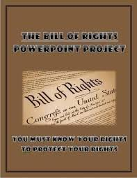 Bill Of Rights Powerpoint Bill Of Rights Powerpoint Project Teachers Pay Teachers Teacher