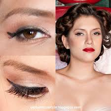 eye makeup pin up inspired makeup for slimmetry 5 42 pm 1950s