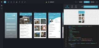 Browser Design Image Design Collaborate Get Code With Builderx In The Browser