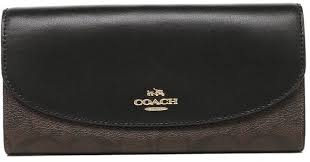 Coach Slim Envelope Wallet In Signature F54022 IMAA8