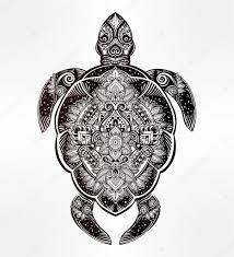 тату эскизы черепаха
