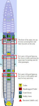 Long Center Seating Chart How To Choose The Best Airline Seat Skytrax
