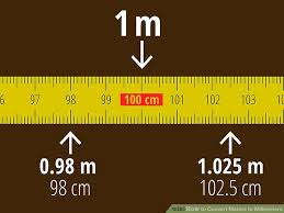 How To Convert Meters To Millimeters 7 Steps With Pictures