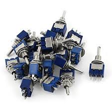 circuit switch amazon com uxcell a15010500ux0842 spdt on off on 3 pin latching miniature toggle switch 20 piece ac125v 6 amp