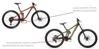 Mountain Bike Crank Arm Length Chart Choosing Mountain Bike Crank Length News Press Live To