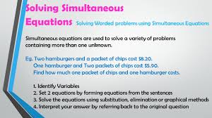 38 solving simultaneous